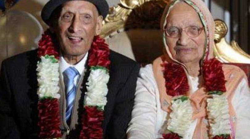 Karam Chand and his wife Kartari are preparing to celebrate their 90th wedding anniversary in Decemb