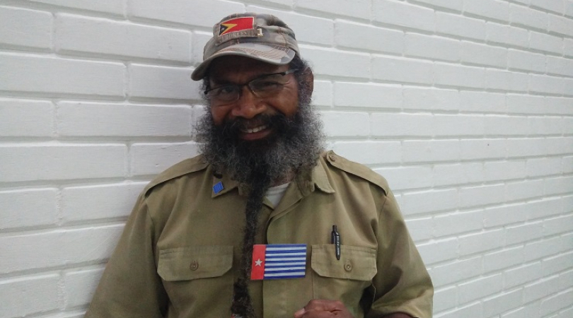 Former political prisoner and Papuan activist, Filep Karma was sentenced to 15 years in prison for r