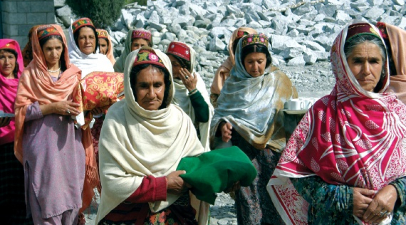 Ismaili women. (Photo: AKPBS Pakistan)
