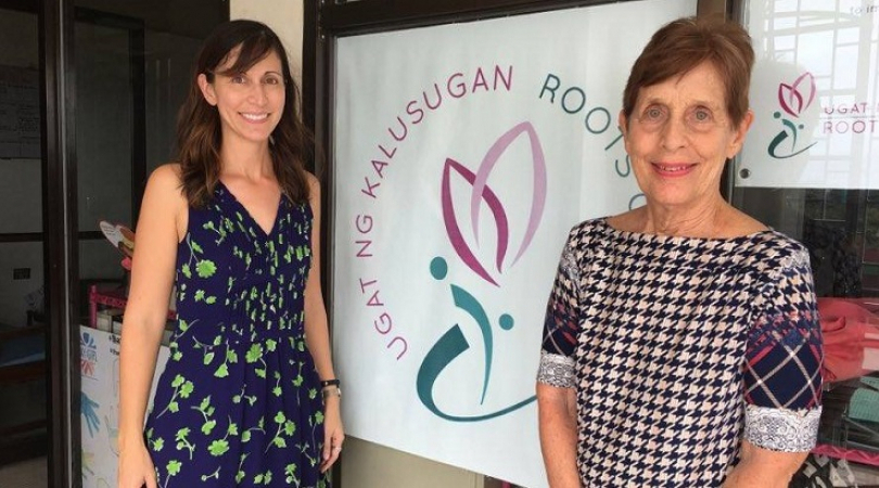 Susan Evangelista and Amina Evangelista-Swanepoel established Roots of Health in 2009. (Photo: Jofel