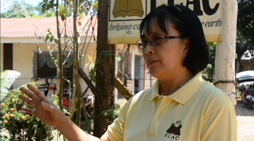 Environmental lawyer Gerthie Anda has been in the forefront of green movement in Palawan, Philippine