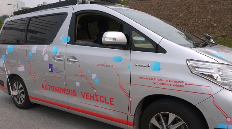 Singapore's government is joining the trend of self-driving vehicles. (Photo: Lien Hoang)
